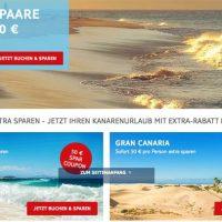 TUI Coupon für Kanaren Reisen – 50 Euro p.P.