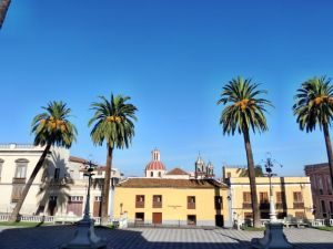Rathauspaltz in La Orotava, Teneriffa