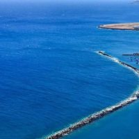 Playa de las Teresitas von Oben