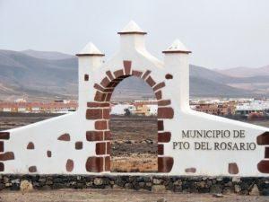 Schild in Puerto del Rosario, Fuerteventura