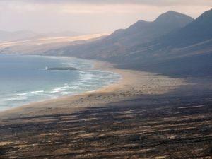 Berge am Playa Cofete, Fuerteventura