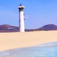 Leuchtturm am Playa Jandia