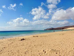 Blauer Himmer Playa Risco del Paso, Fuerteventura