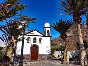 Kirche im Ort Agaete, Gran Canaria