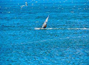 Surfer in Pozo Izquierdo
