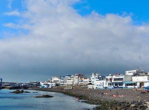 Strand in Puerto de las Nieves