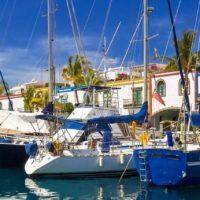 Yachthafen in Puerto de Mogan