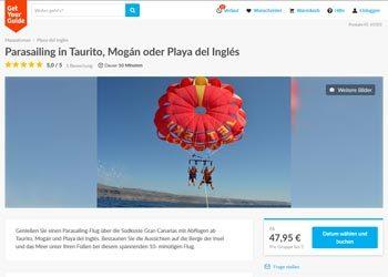Paragliding auf Gran Canaria