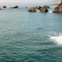 Bucht von Playa La Zamora