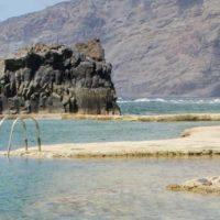 Meerwasserbecken bei La Frontera