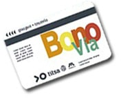 TITSA Bonobus Bonuskarte