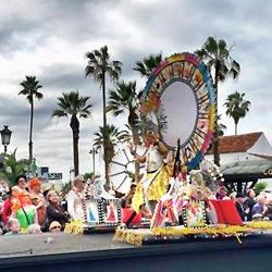 Karnevalumzug in Puerto de la Cruz