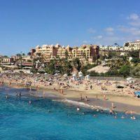 Strand an der Costa Adeje