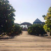 Steg am Strand in Costa Adeje