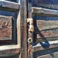 Alte kanarische Tür
