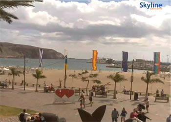 Playa de Los Cristianos Webcam