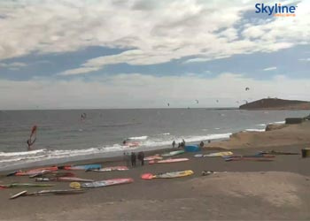 Surf und Kite in El Médano Webcam