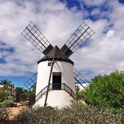 Fuerteventura sehenswerte Mühle