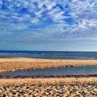 Lagune am Playa Risco de Paso