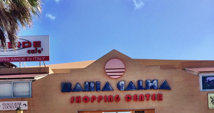 Einkaufszentrum Bahia Calma