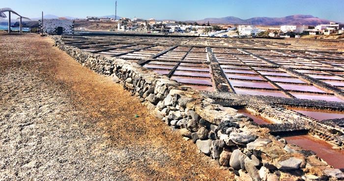 Salinas del Carmen in Caleta de Fuste
