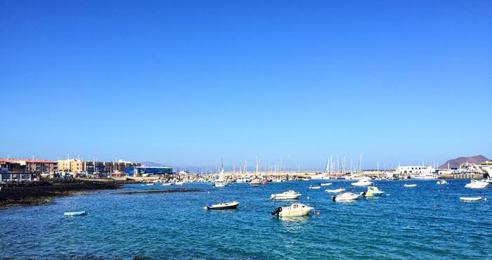 Hafen von Corralejo