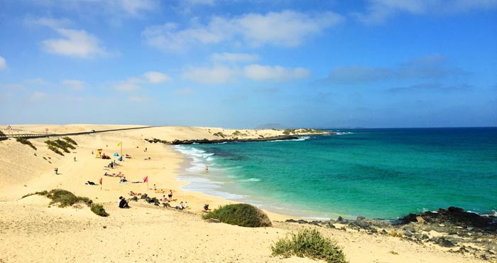 Playa Alzada in Corralejo
