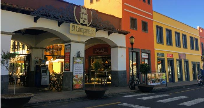 Einkaufszentrum El Campanario