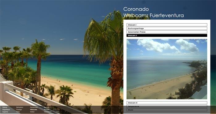 Live Webcam aus Morro Jable