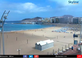 Las Canteras Live Webcam