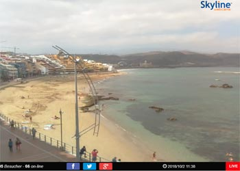 Las Palmas live Webcam
