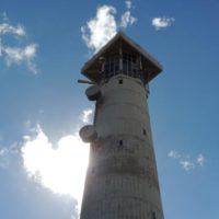Leuchtturm aus der Nähe