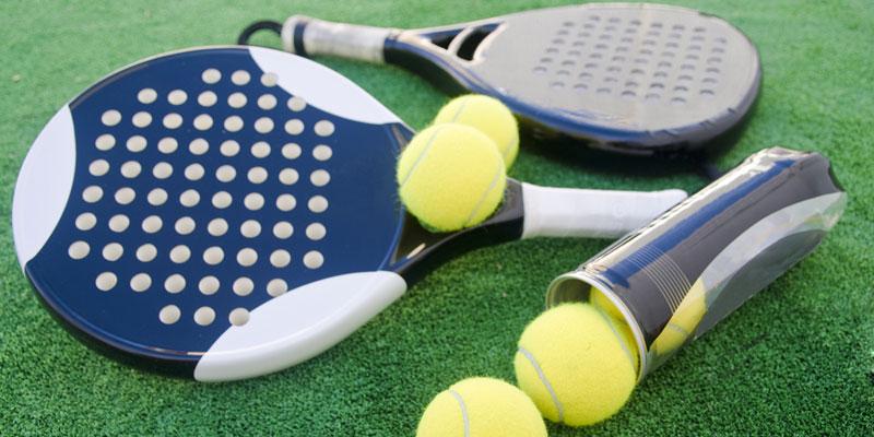 Padel und Tennis