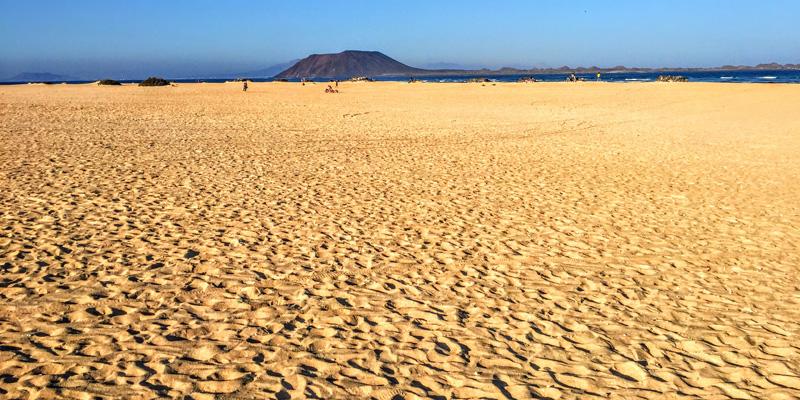Breiter Strand